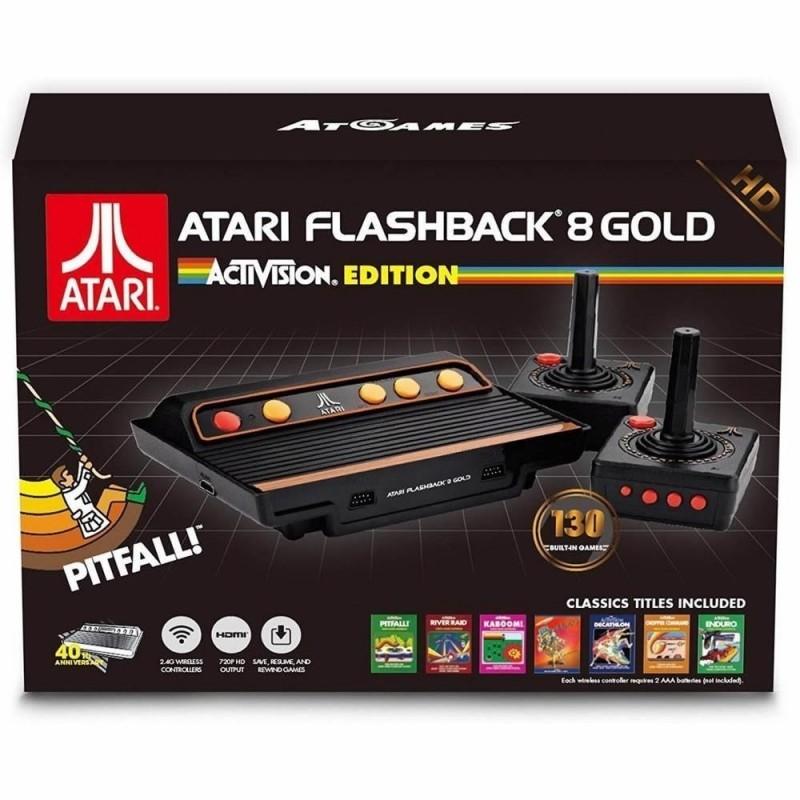 Consola Retro Atari Flashback 8 HD con 130 Juegos