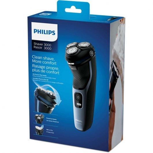 Afeitadora Philips Shaver 3000 S3133/51 Negro
