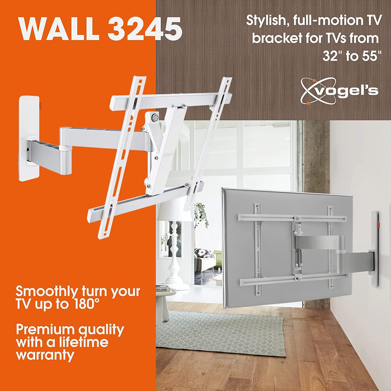Soporte de TV giratorio VOGELS WALL 3245 Blanco
