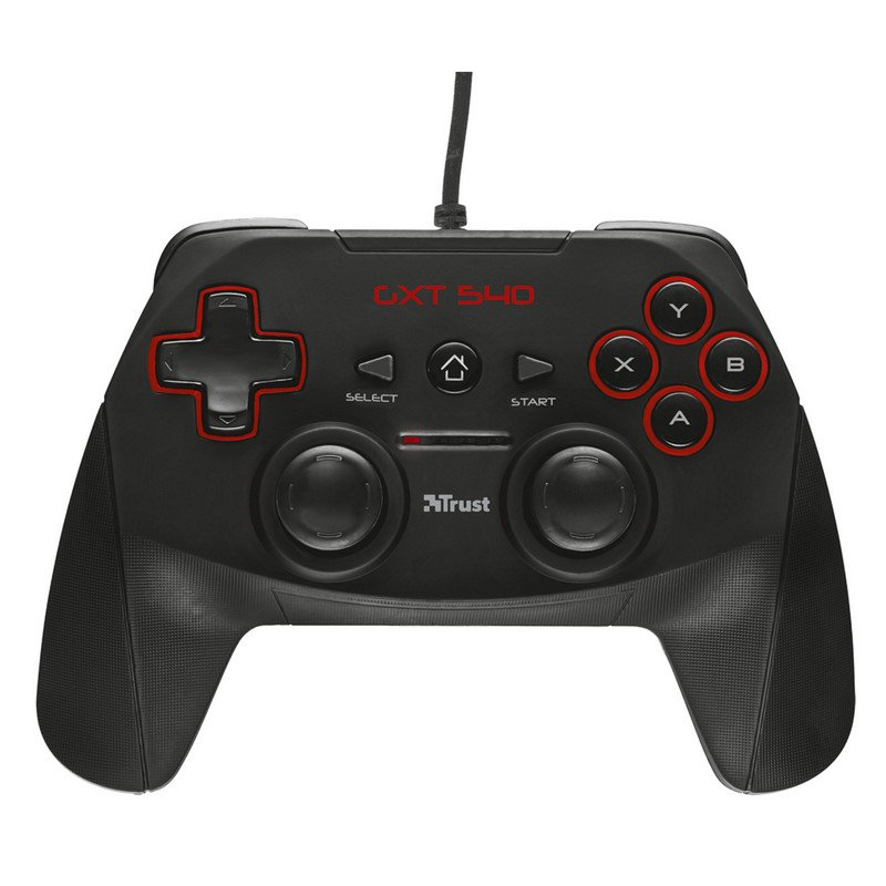 Gamepad TRUST GXT 540 - 13 BOTONES / 2 PALANCAS / PANEL DIGITAL