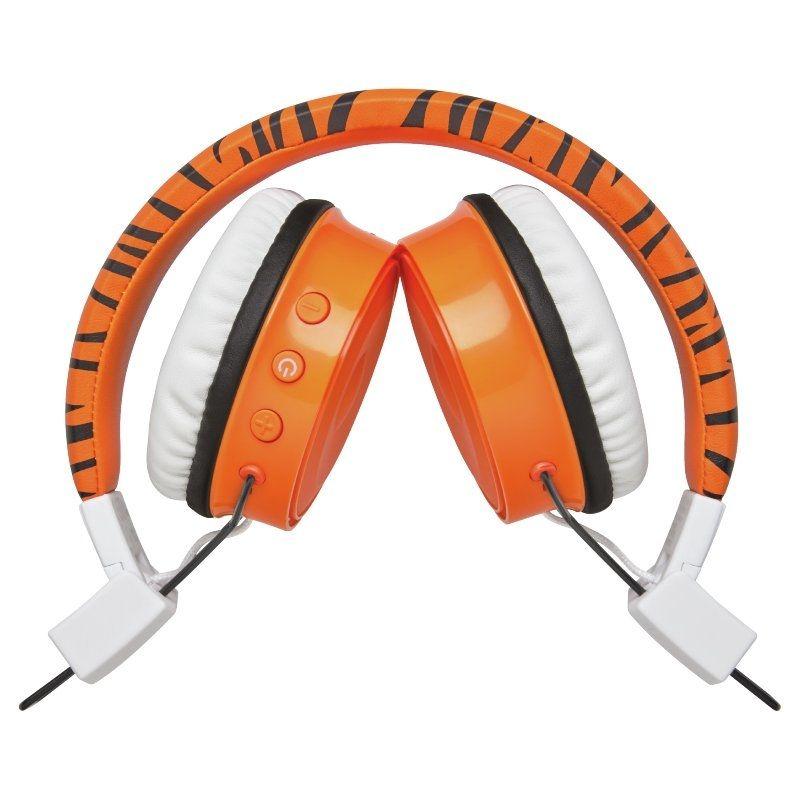 Auriculares Infantiles Bluetooth Trust Comi Orange