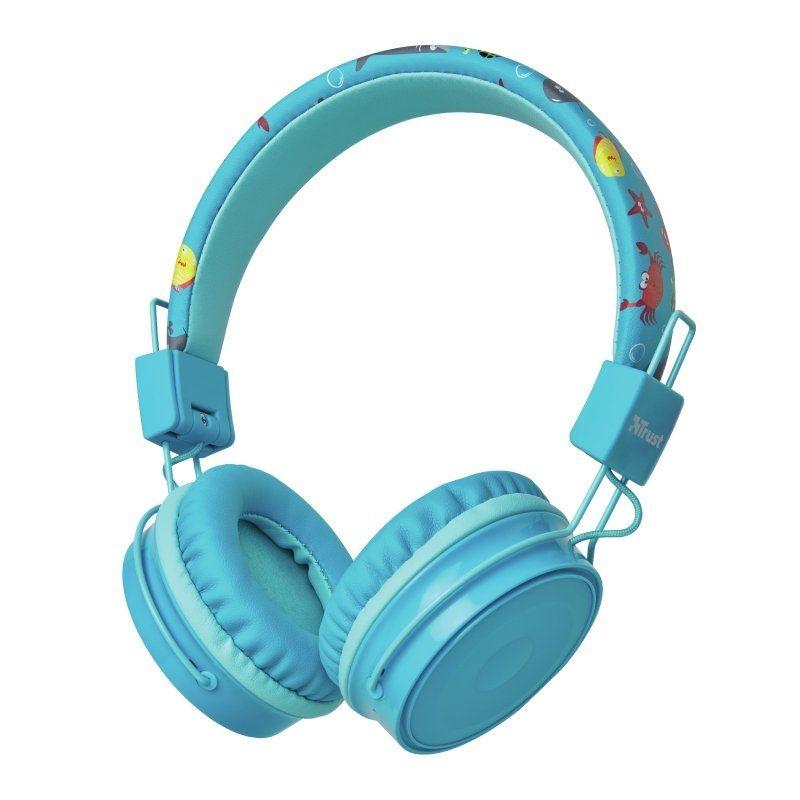 Auriculares Infantiles Bluetooth Trust Comi Blue