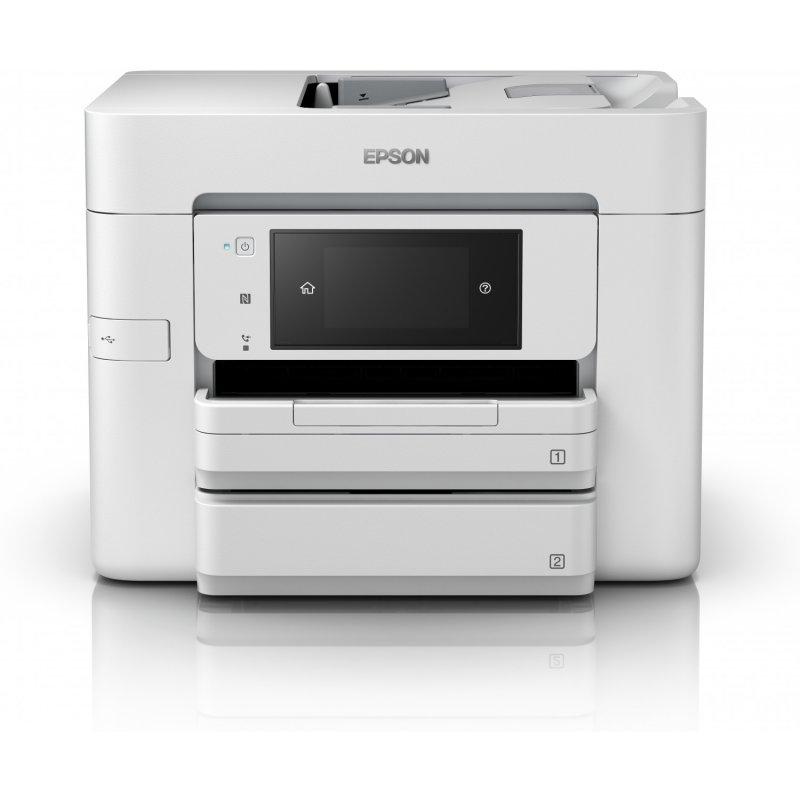 Impresora Multifunción Color Epson WorkForce Pro WF-4745DTWF WiFi NFC Fax Dúplex