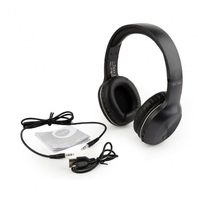 Auriculares Bluetooth Gembird Miami Negro