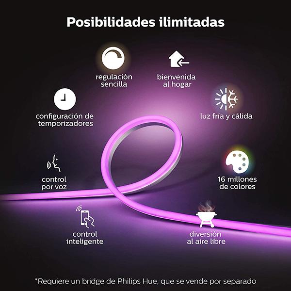 Tira Inteligente LED Philips Hue