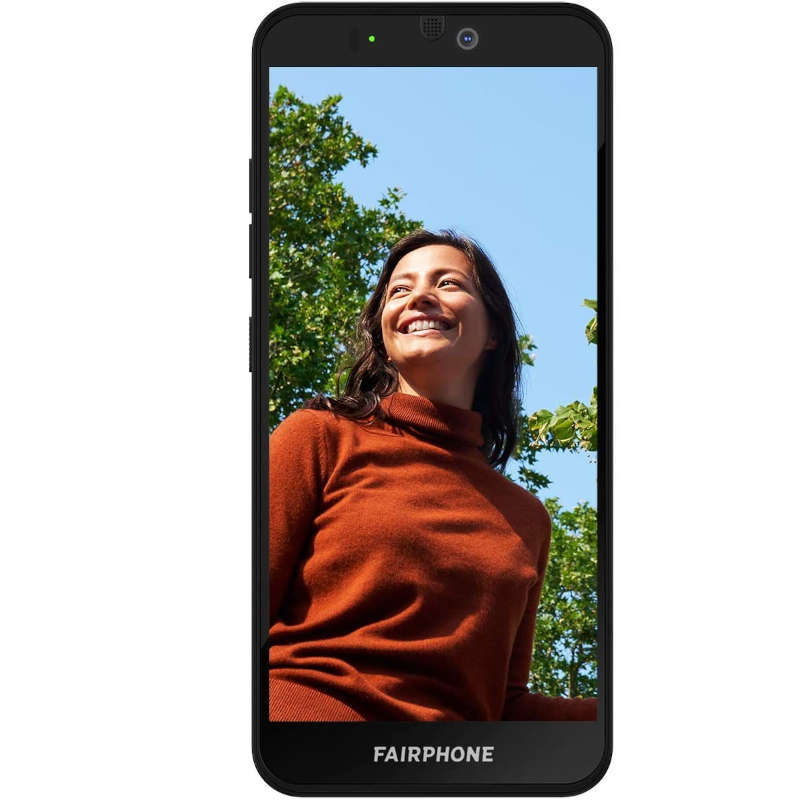 Fairphone 3+ 4GB 64GB Negro