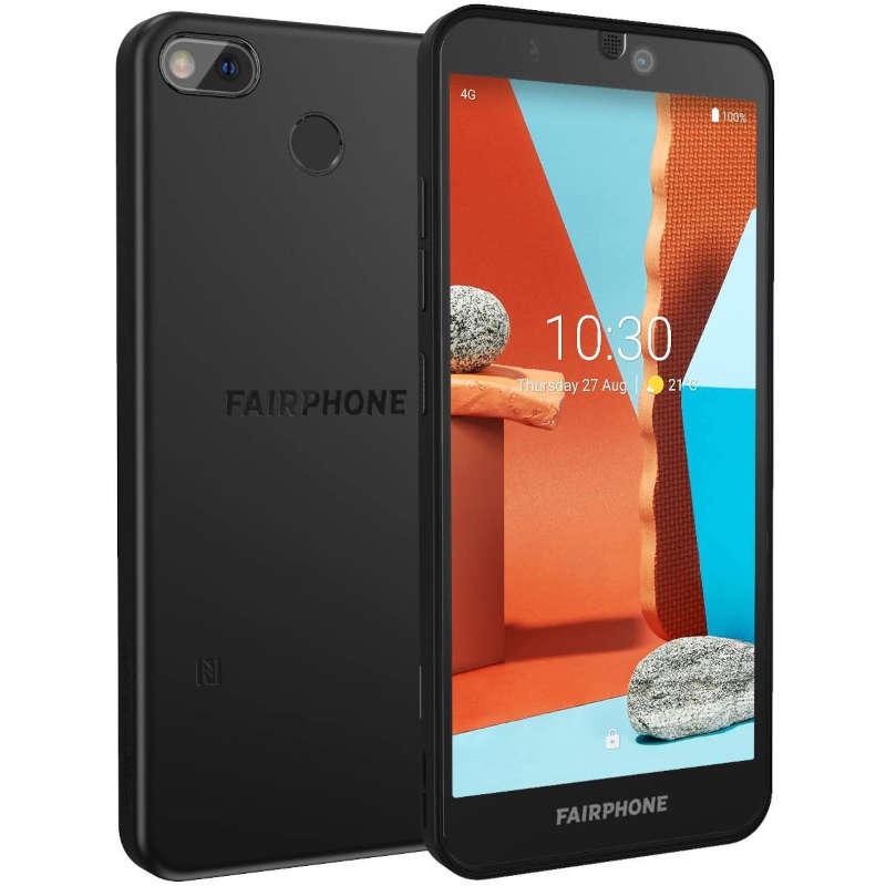 Fairphone 3+ 4GB 64GB Negro