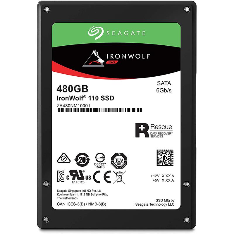 Disco Duro SSD Seagate IronWolf 110 2,5\