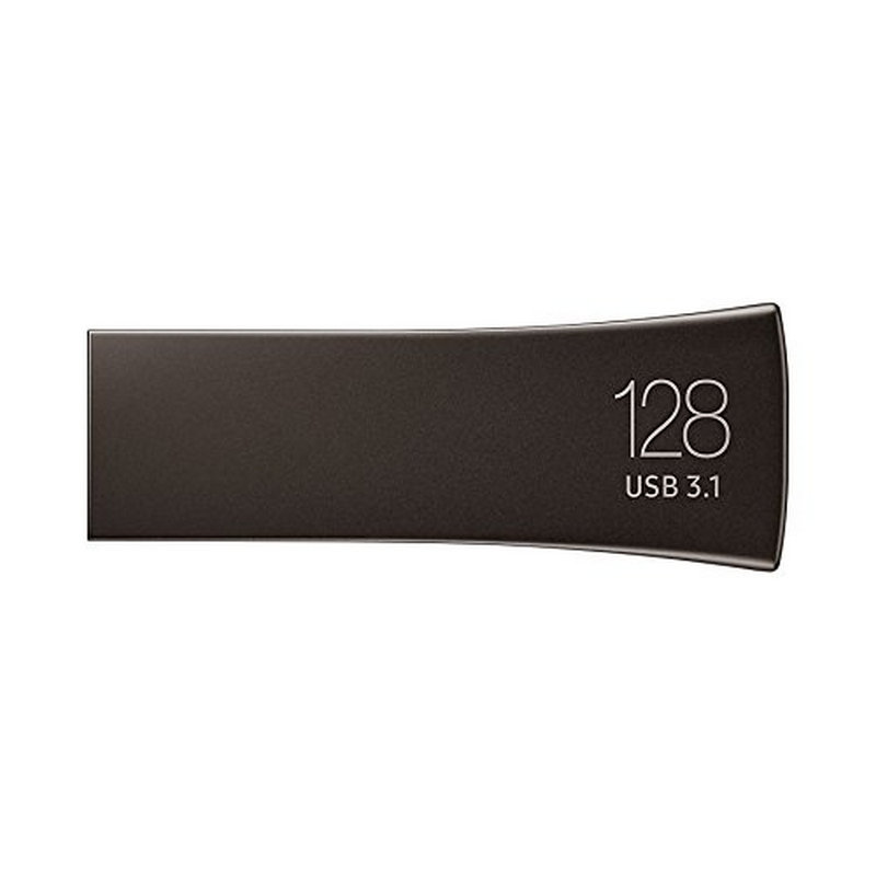 Pendrive 128GB Samsung BAR Plus Gris USB 3.2