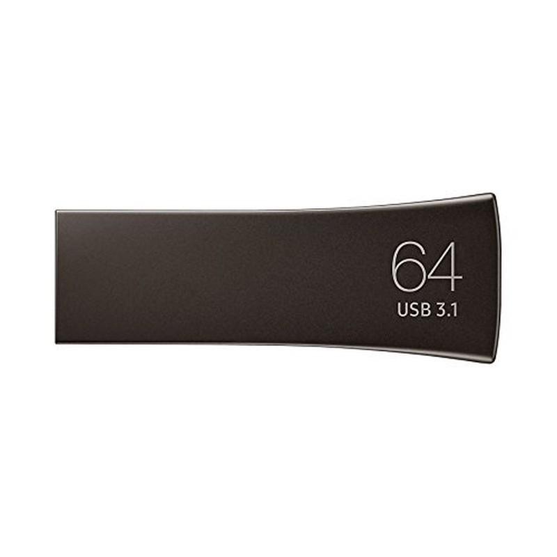 Pendrive 64GB Samsung BAR Plus Gris USB 3.2