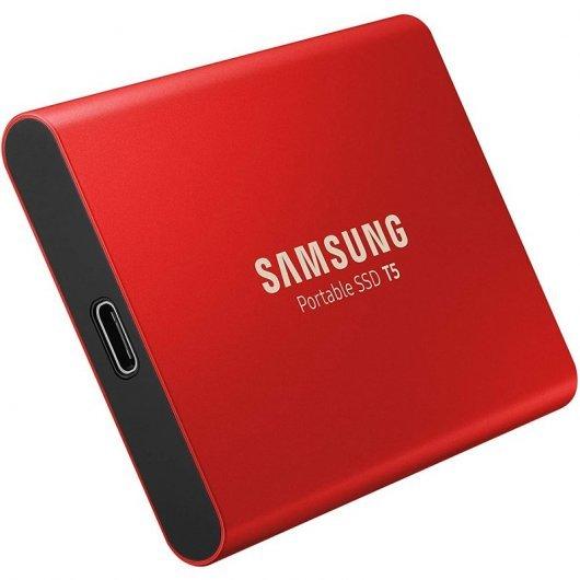 SSD Externo SSD Samsung T5 500GB Rojo