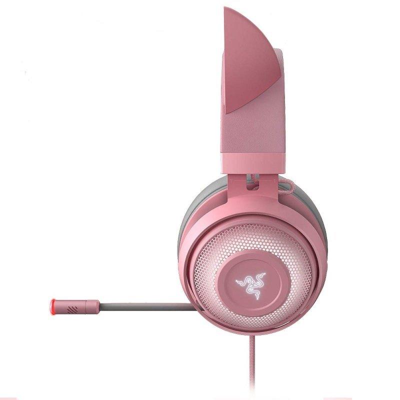 Auriculares Gaming Razer Kraken Kitty Edition Rosa