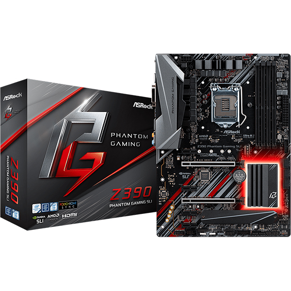 Placa Base ASRock Z390 Phantom Gaming SLI ATX LGA1151(300)