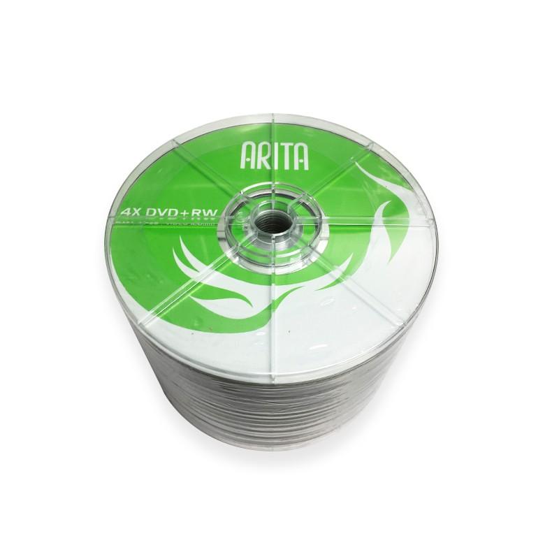 DVD+RW 4x Arita Bobina 50 uds