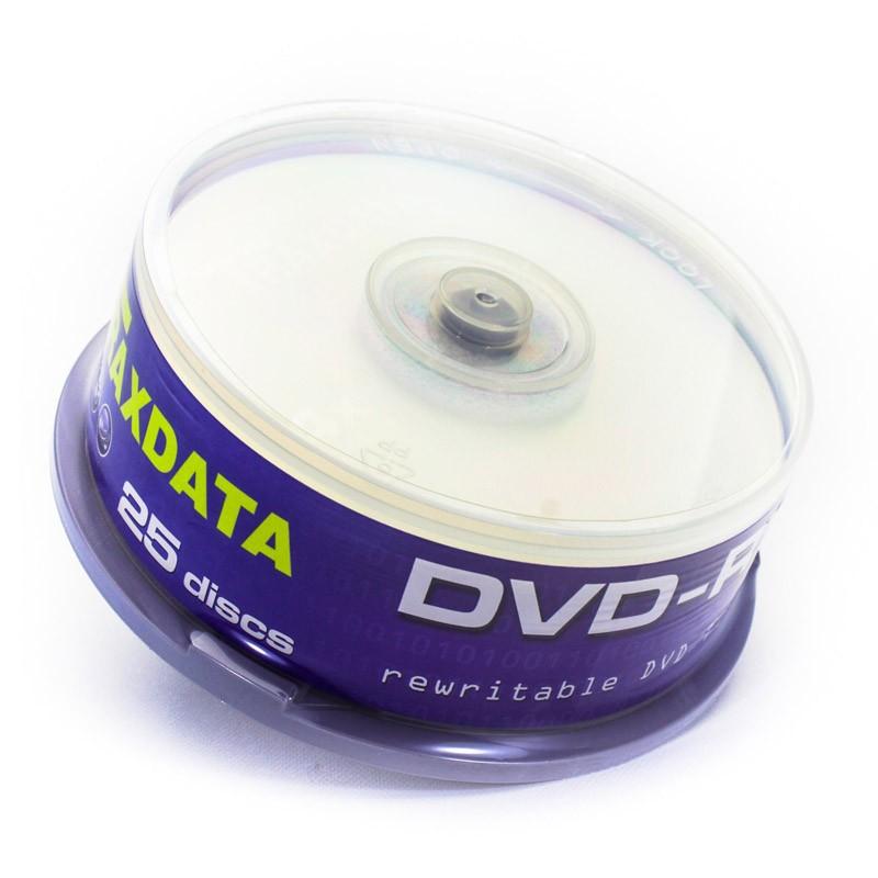 DVD-RW Traxdata 4x Tarrina 25 uds