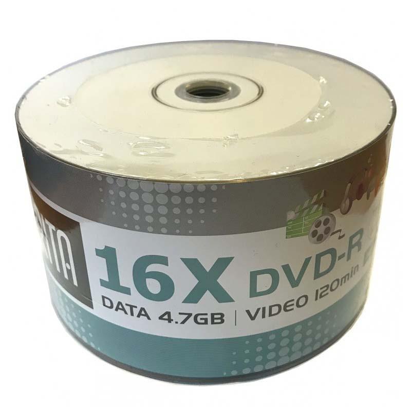 DVD-R 16x Arita FF Inkjet White Printable Bobina 50