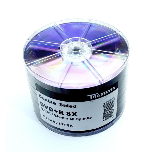 dvd-r-8x-traxdata-doble-cara-bobina-50-uds-by-ritek-