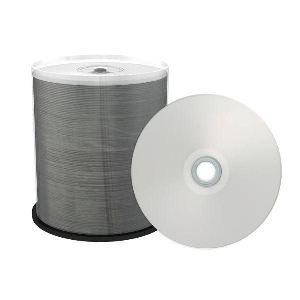 DVD-R 16X Ritek PRO Inkjet Printable Silver Tarrina 100 uds