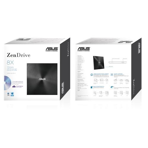 Grabadora DVD externa ASUS ZenDrive U7M NEGRA