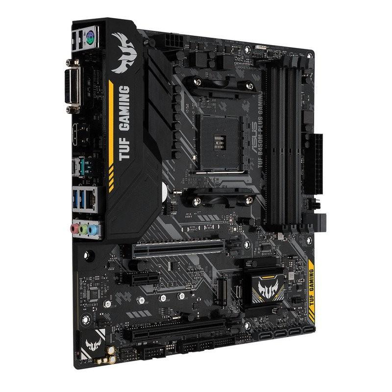 Placa Base Asus TUF B450M-PLUS Gaming mATX Socket AM4