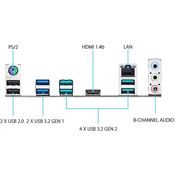 Placa Base Asus PRIME X570-P ATX Socket AM4