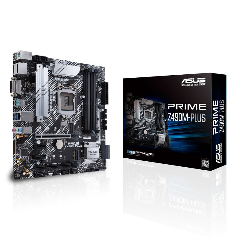 Placa Base Asus Prime Z490M-PLUS mATX LGA1200