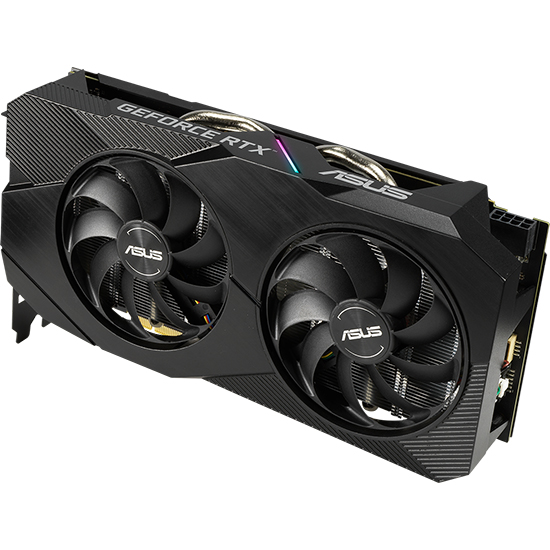 Tarjeta Gráfica Asus Dual GeForce RTX 2060 OC EVO 6GB GDDR6