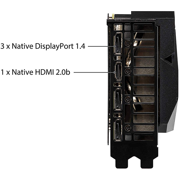 Tarjeta Gráfica Asus Dual GeForce RTX 2080 SUPER EVO OC 8GB GDDR6