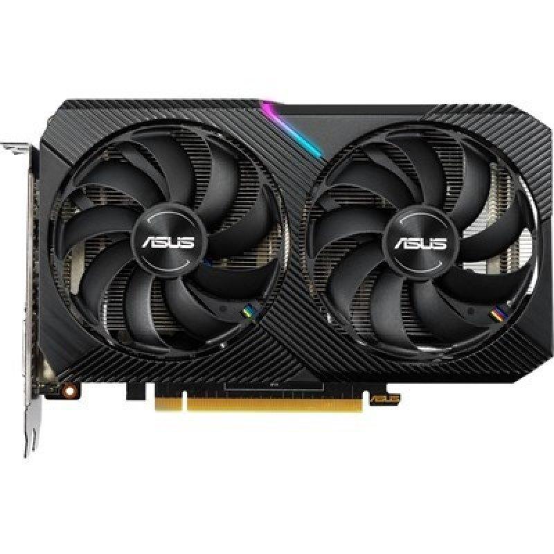 Tarjeta Gráfica Asus Dual GeForce GTX 1660 SUPER MINI OC Edition 6GB GDDR6