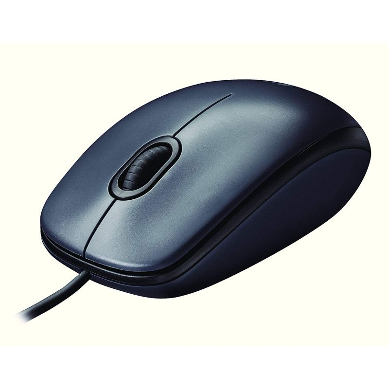 Ratón Óptico Logitech M90 USB 1000DPI - 910-001794