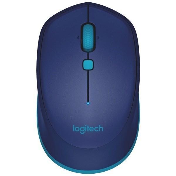Ratón Bluetooth Logitech M535 1000DPI Azul