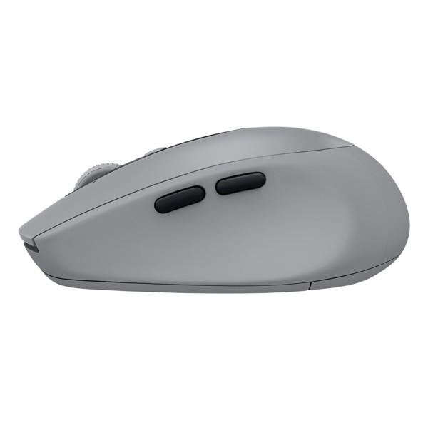 Ratón Inalámbrico + Bluetooth Logitech M590 Silent Gris 1000DPI