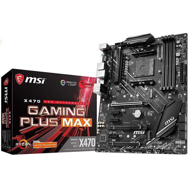 Placa Base ATX MSI X470 Gaming Plus Max AM4