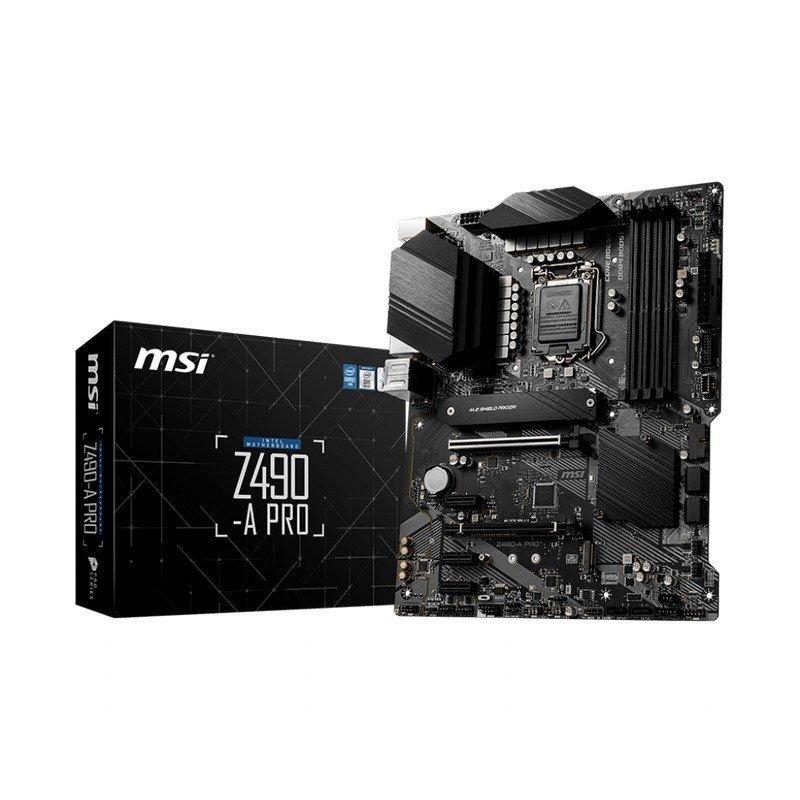 Placa Base MSI Z490-A PRO ATX LGA 1200
