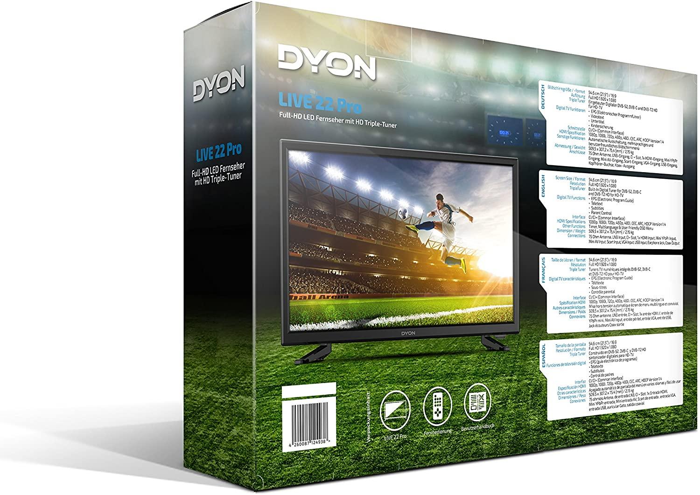 Televisor Dyon LIVE 22 Pro LED TV Negra 21.5\