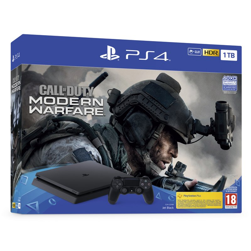 Sony PlayStation 4 Slim 1TB + COD Modern Warfare