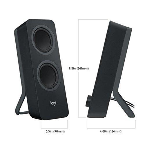 Altavoces 2.0 Logitech Z207 10W Bluetooth Negro