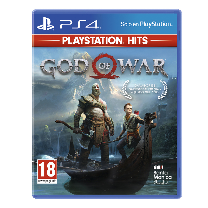 PS4 Juego God Of War - HITS