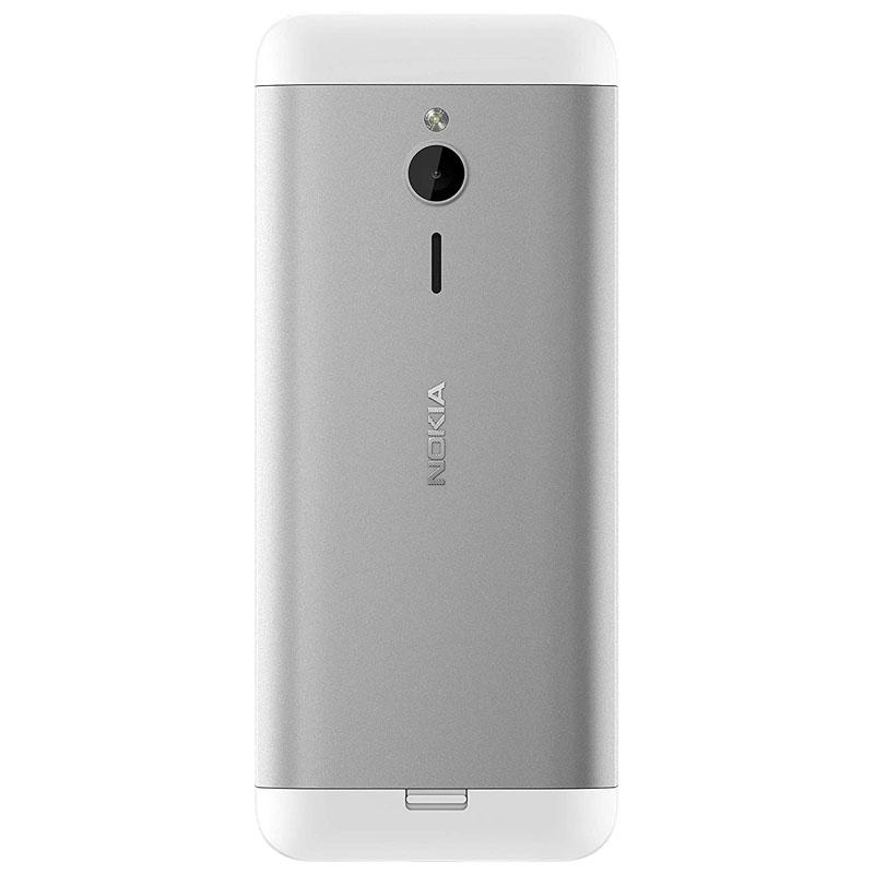 Nokia 230 Dual SIM Plata -Modelo de Exposición