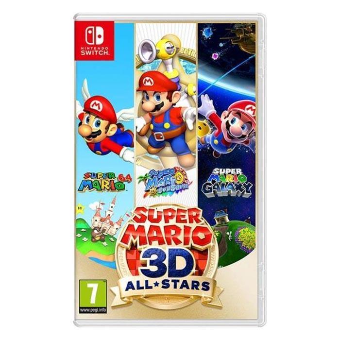 Nintendo Switch Juego Super Mario 3D All-Stars