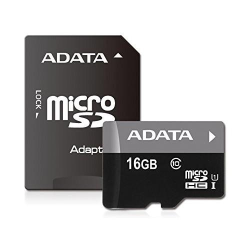 Tarjeta MicroSDHC 16GB Clase 10 UHS-I ADATA Premier - c/adapt