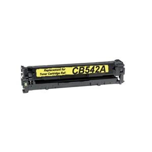 HP CB542A/CE322A/CF212A Toner Compatible Amarillo