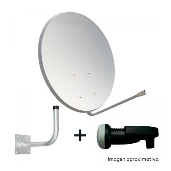 Kit Antena Parabolica 60cm + LNB + Soporte