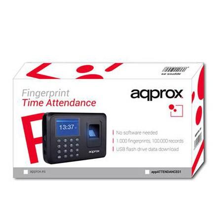 Lector Biométrico para Control de Presencia Approx APPATTENDANCE01