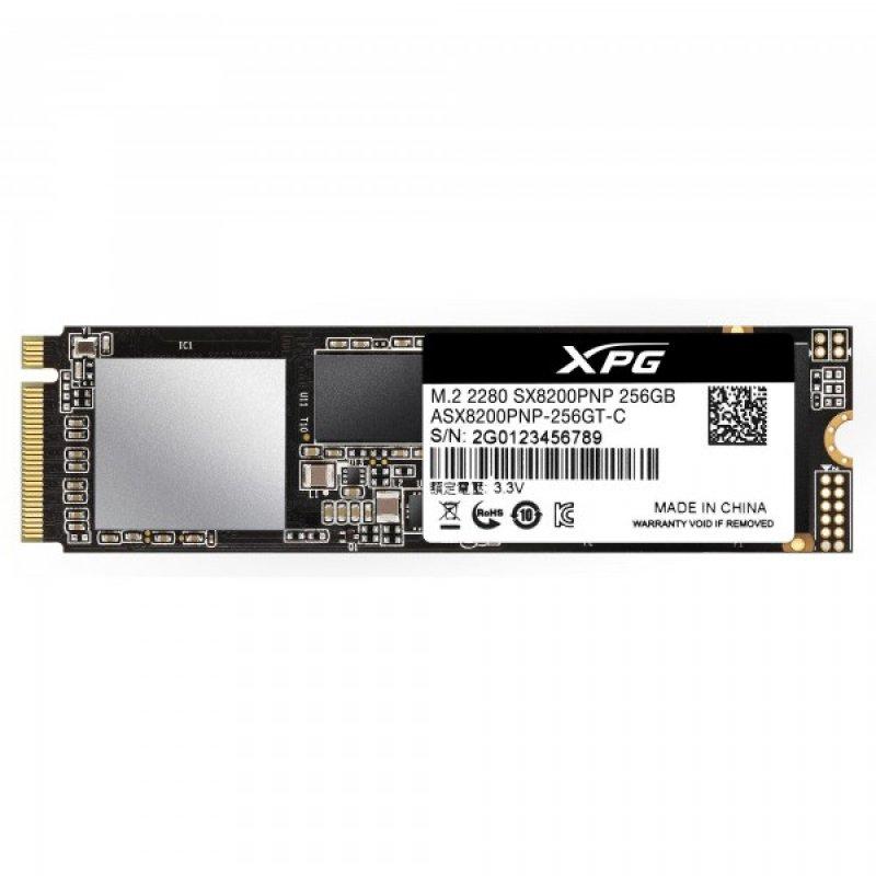 SSD M.2 NVMe 256GB XPG SX8200 PCIe Gen3x4
