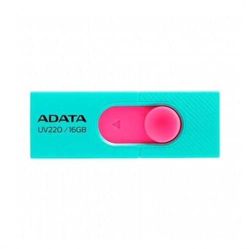 pendrive-16gb-adata-uv220-verde-rosa