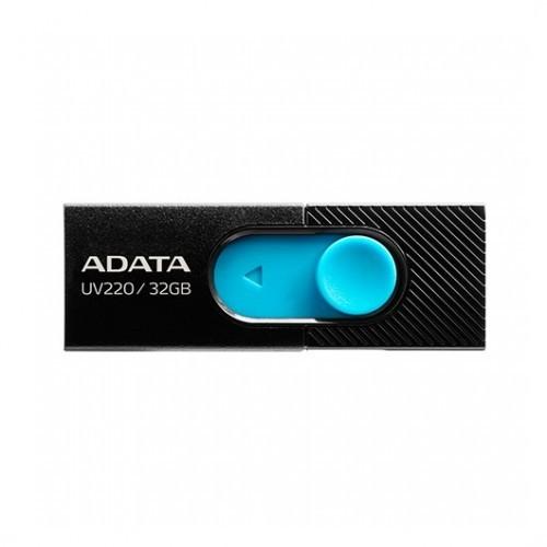Pendrive 32GB Adata UV220 Negro/Azul