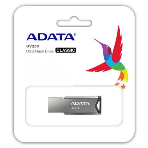 Pendrive 16GB Adata UV250 Plata
