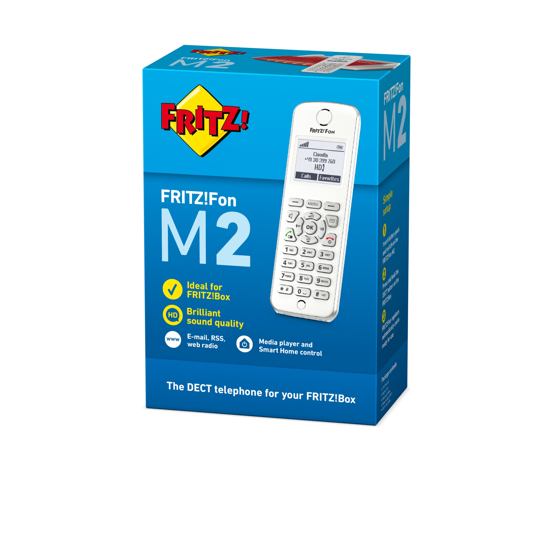 Teléfono DECT AVM FRITZ!Fon M2 Blanco