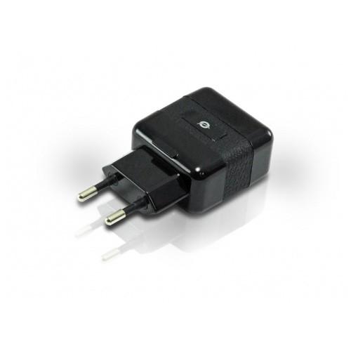 Adaptador 2 entradas USB a CA Conceptronic C05-216 2000mA 5V